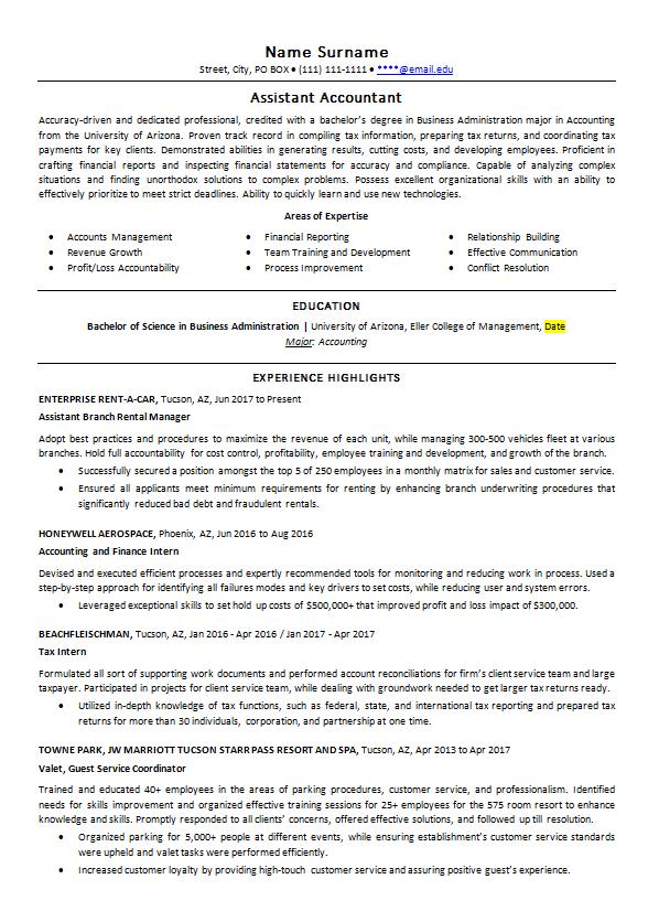 resume-accountant